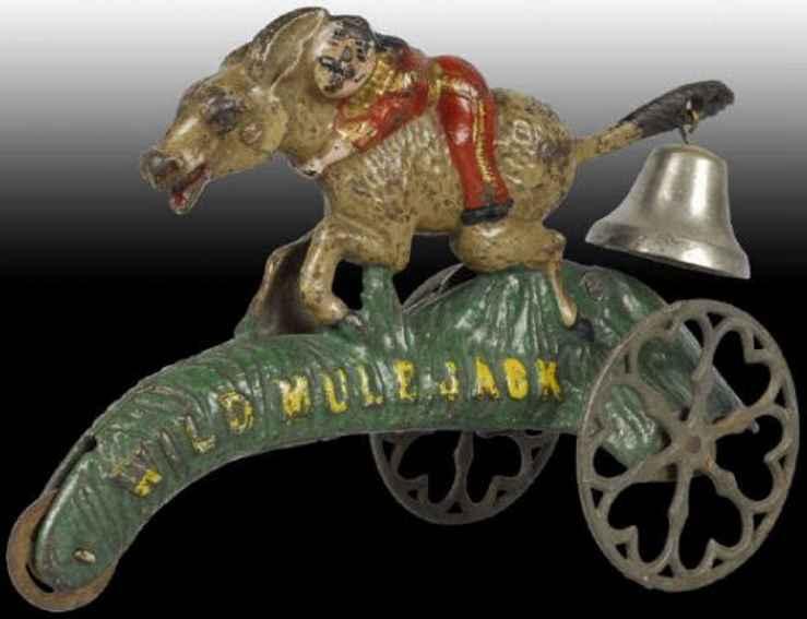 Bell Toy  wildes Maultier Jack als Glockenspielzeug