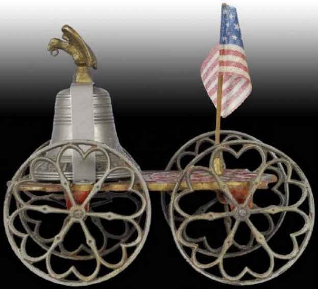 Bell Toy Gong Bell Freiheitsglocke mit Amerikanischem Adler