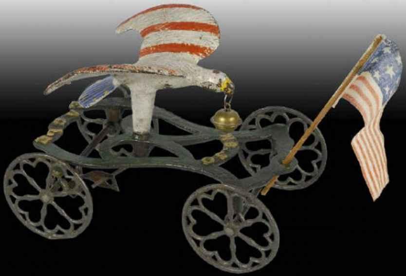 Bell Toy Figuren Glockenspielzeug aus Gußeisen