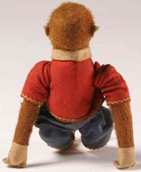 bing tin toy mechanical monkey toy