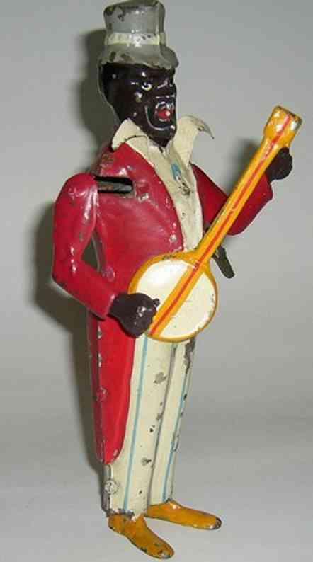 Bing Schwarzer Mann mit Banjo