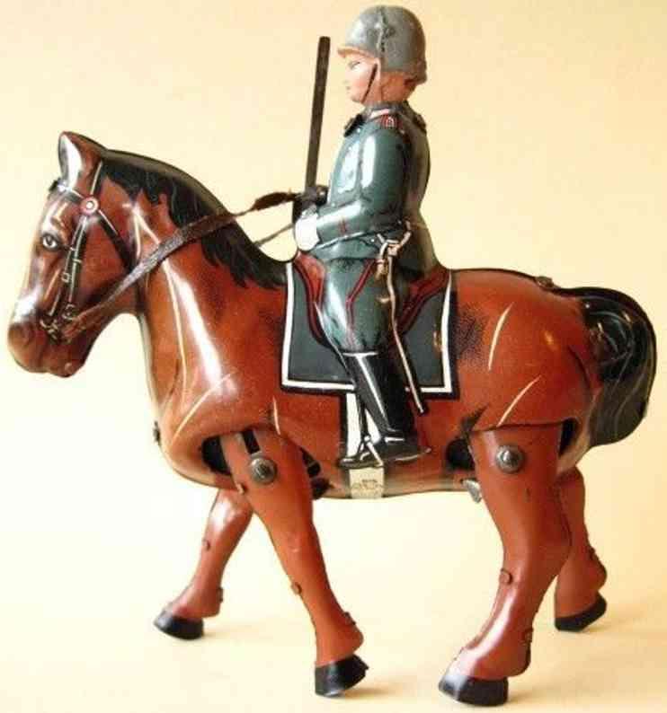 Blomer & Schüler Soldat auf Pferd