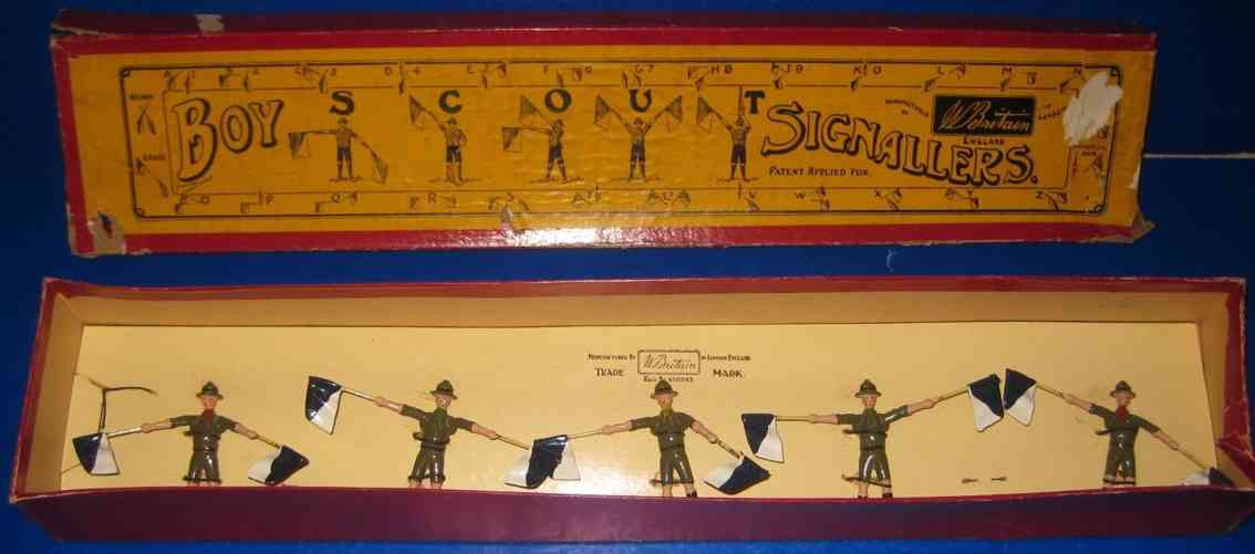 Britains Ltd. Toy 163 5 Signalgeber Pfadfinder