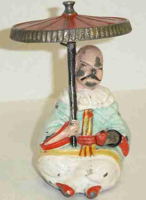 britains ltd toy blech spielzeug the mikado, amüsantes spielzeug; wenn eine schnur oben über