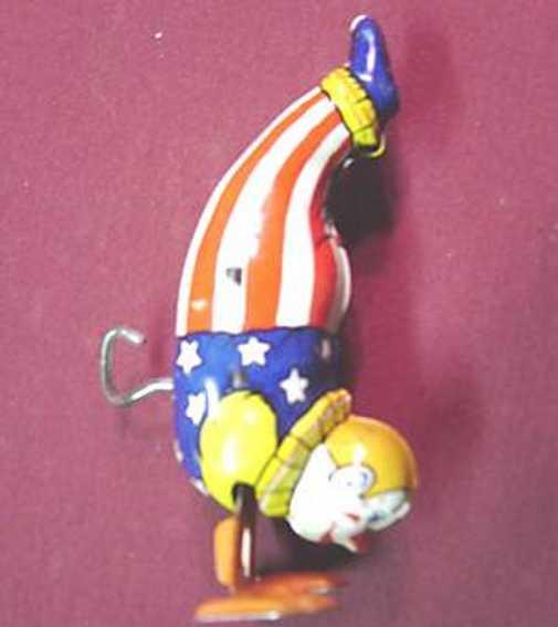 Chein Co. 158 Clown als Akrobat der sich auf seinen Händen bewegt