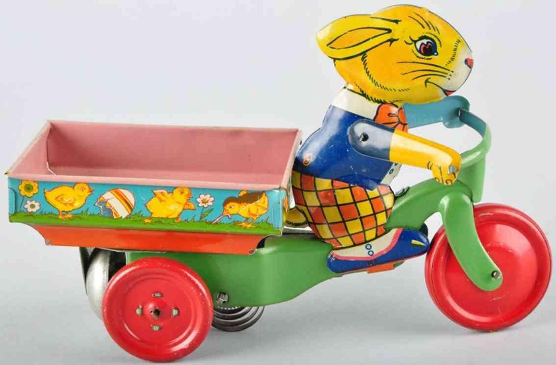 chein co. 98  three-wheeled rabbit car