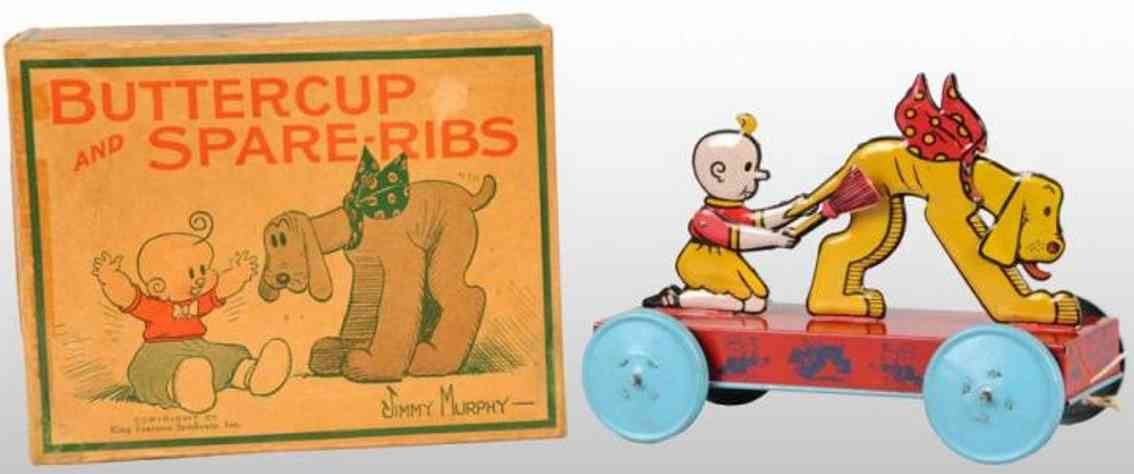chein co tin toy buttercup and spareribs