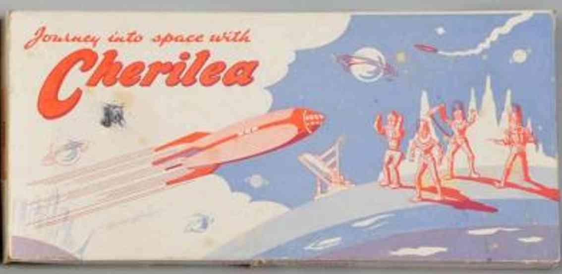Cherilea 1002A Reise ins Weltall Figuren aus Druckguss