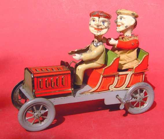 Eberl Hans Clown als Fahrer im Auto