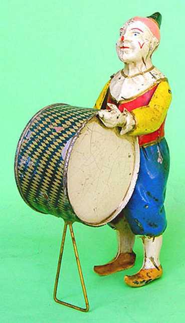 Eberl Hans Clown mit Trommel