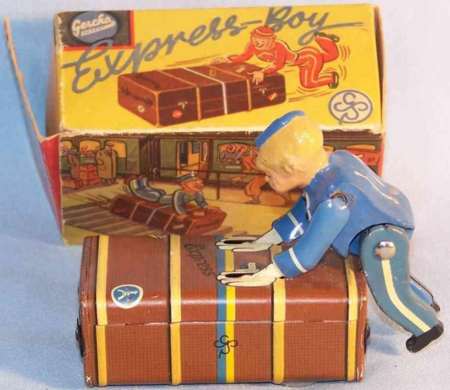 gescha spielzeug blech express-boy
