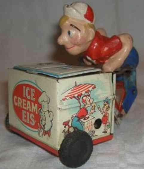 Göso Eisverkäufer mit Uhrwerk