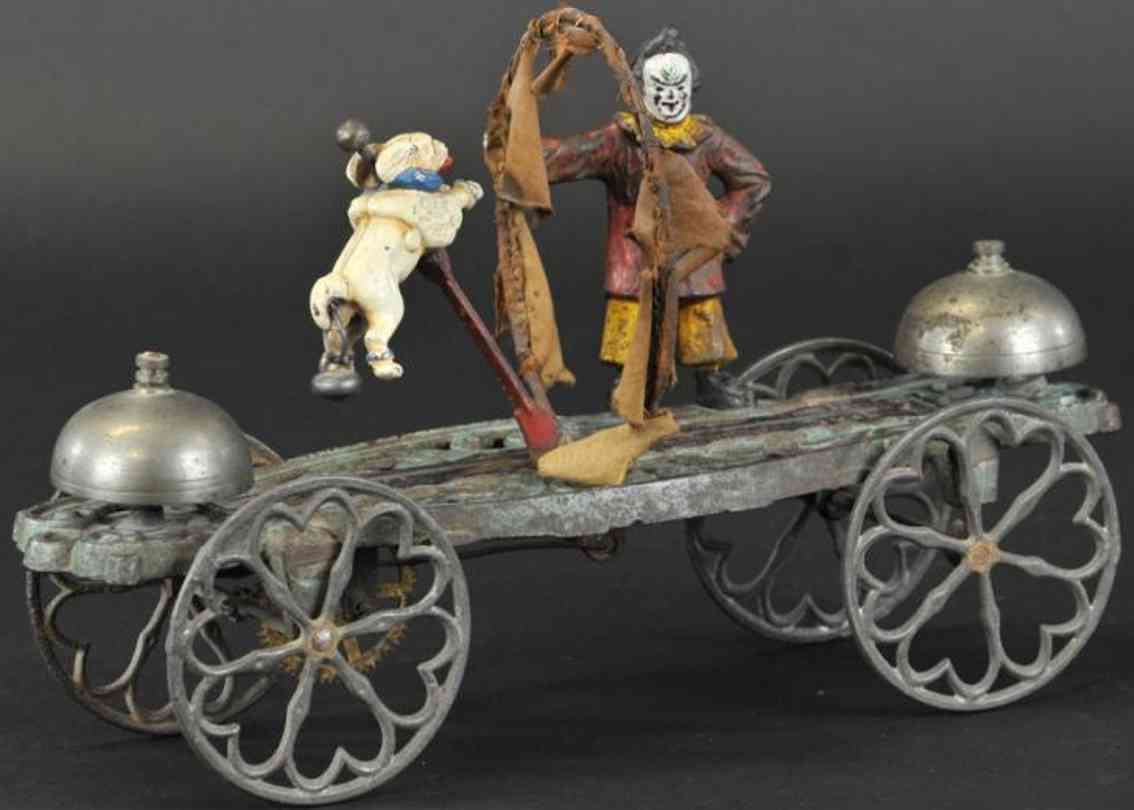 gong bell 44 spielzeug gusseisen clown pudel glockenspielzeug