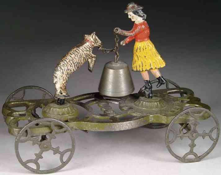 gong bell 55 gusseisen maria und ihr kleines lamm als glockenspielzeug