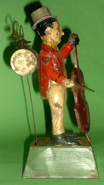 Guenthermann One Man Band windup toy