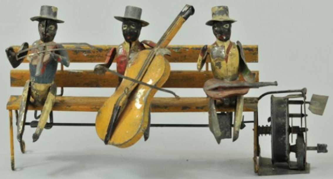 Günthermann Drei schwarze Musiker