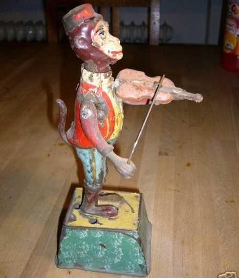 Guenthermann Gunthermann Monkey with violin