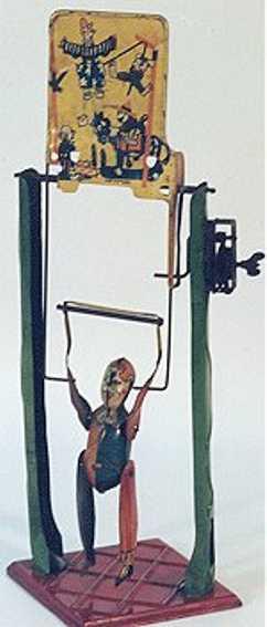 Guenthermann Clockwork Tumbling Circus Clown