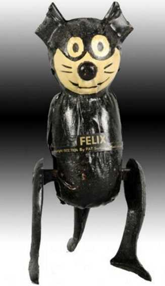 guntherman tin toy felix the cat with wind-up pat sullivan