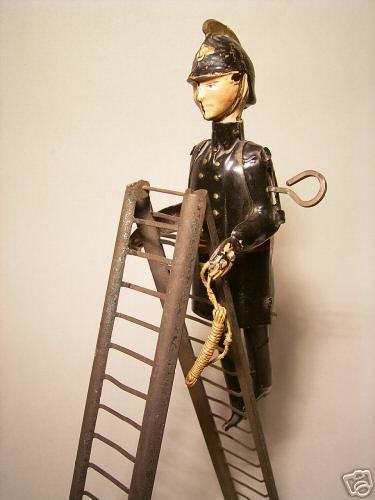 Guenthermann  Fireman on ladder