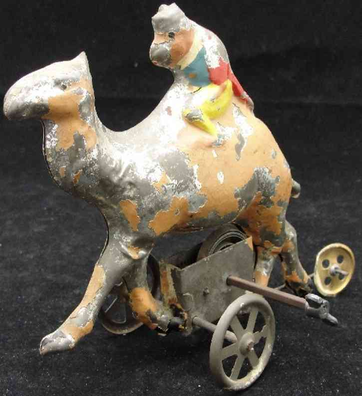 Guenthermann Monkey riding a ceml wind up toy