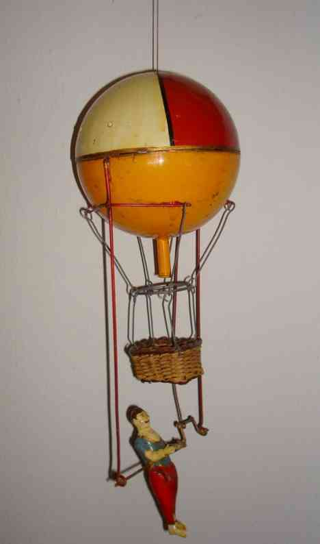 Guenthermann Ballonist Acroabt with clockwork