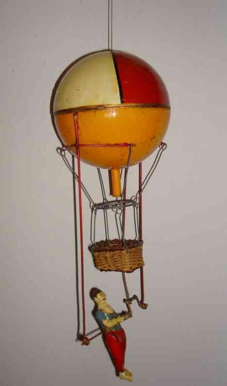 Günthermann Balloonist Acrobat Akrobat am Ballon