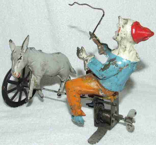 Guenthermann Circus Clown Trainer with Donkey