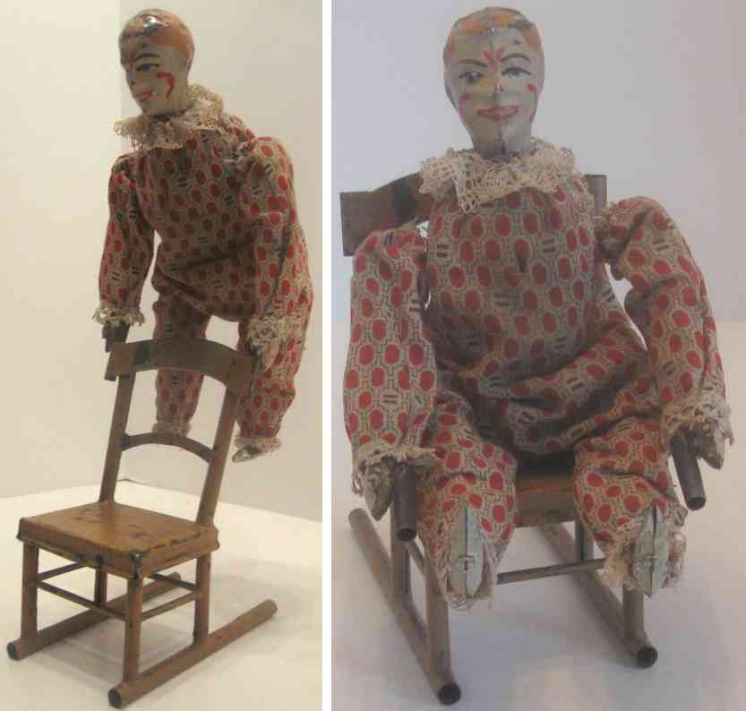 Guenthermann acrobatic clown on chair