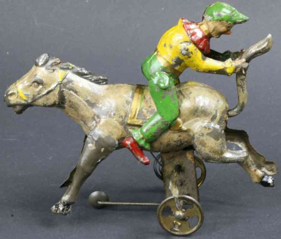 Guenthermann Clown on donkey
