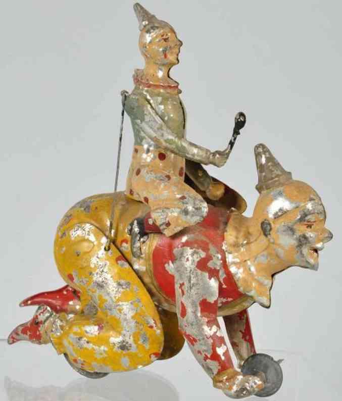 Günthermann Clown reitet auf Clown