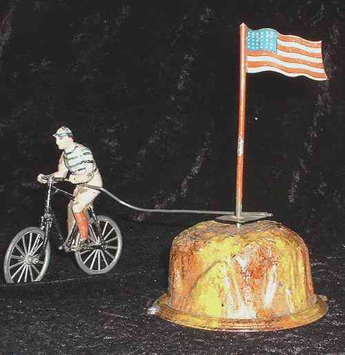 Guenthermann Cyclist with Stars and stripes