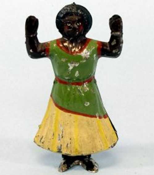Günthermann Tanzender Eingeborene im Kleid