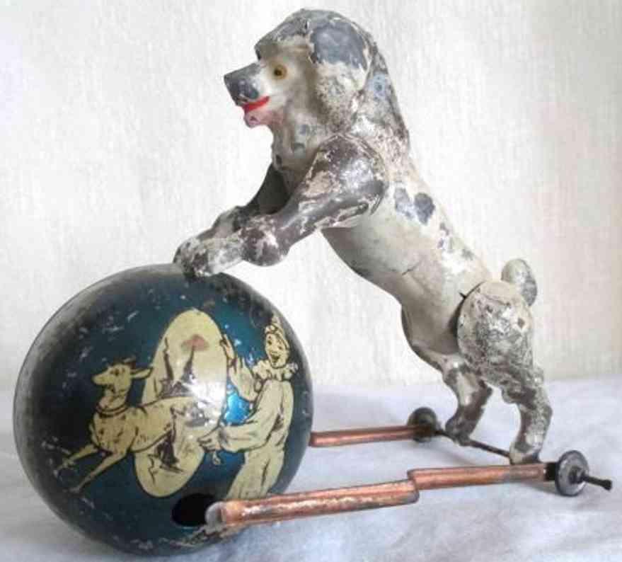 Günthermann Hund mit Ball