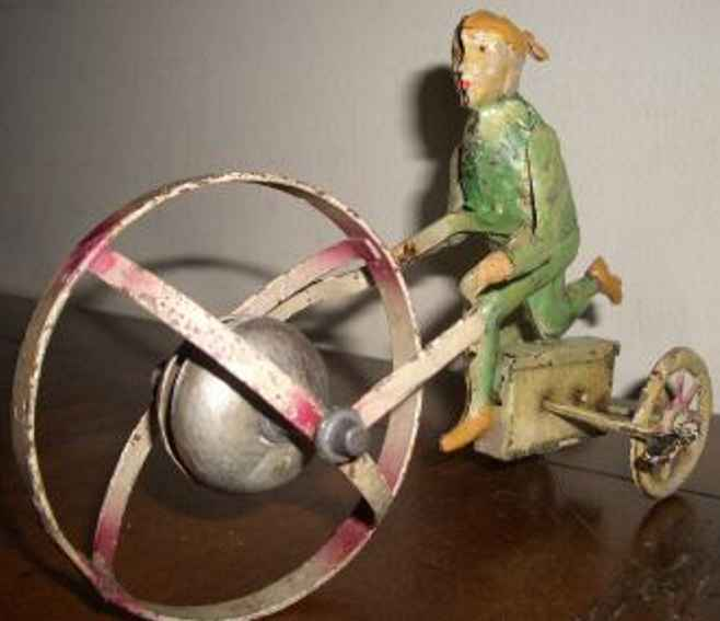 Guenthermann Elf with a bell ball and clockwork