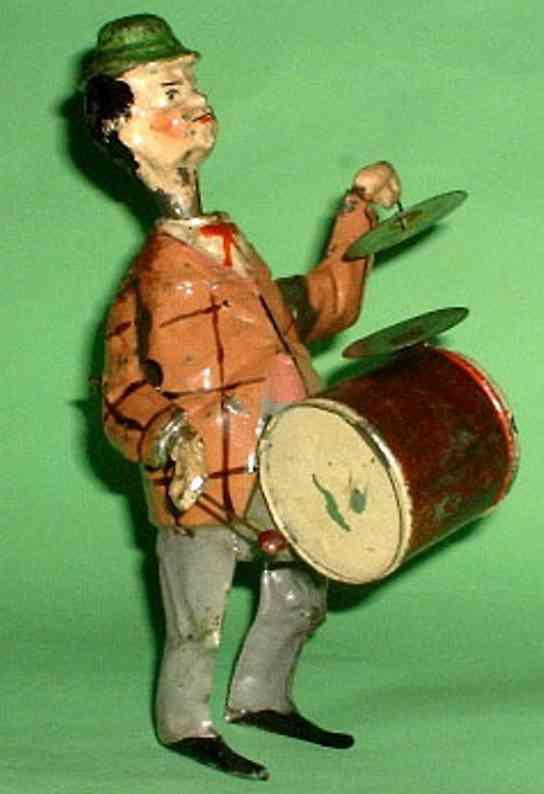 Günthermann Mann mit Trommel Straßenmusikant