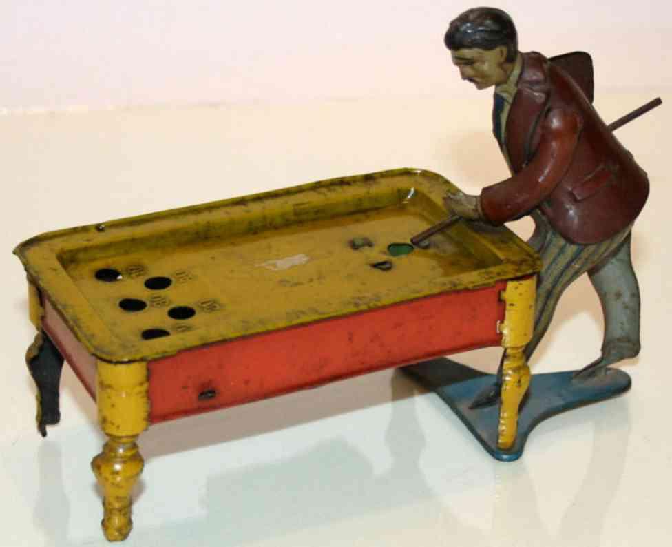 Günthermann Billiardspieler