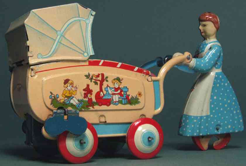 Haji Mansei Toys Co. Ltd Frau mit Babywagen