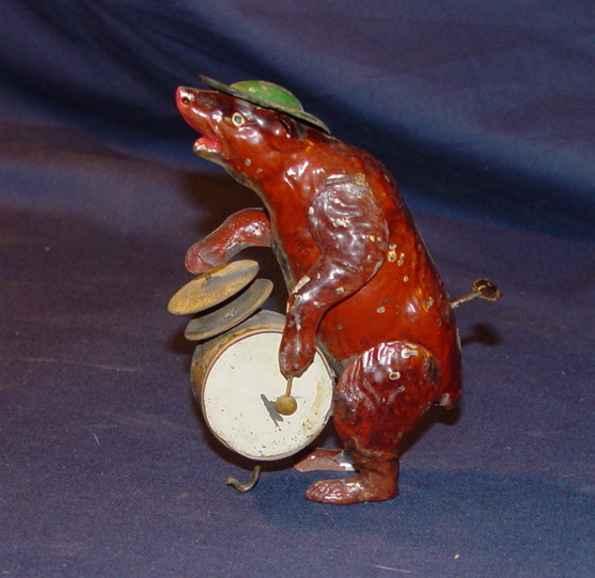 Issmayer Bear Percussionist