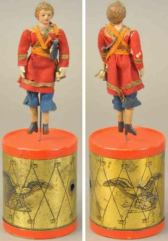 ives blech spielzeug tochter  trommeltaenzers des regiments