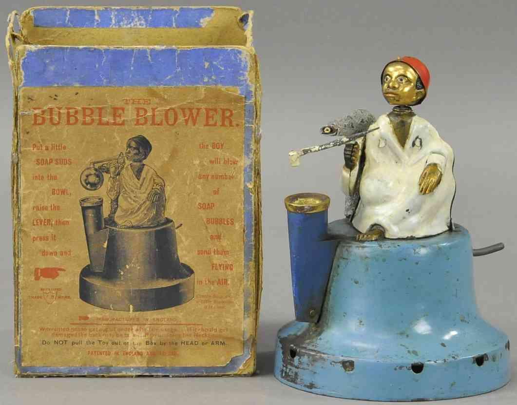 jwb tin toy bubble blower toy