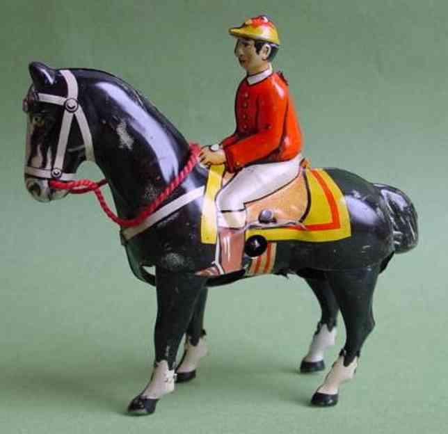 Keim Reiter auf Pferd