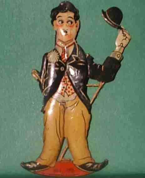 Kellermann 256 Charly Chaplin als Ansteckfigur