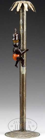 lehmann 185 blech spielzeug coco neger klettert kokospalme hinauf