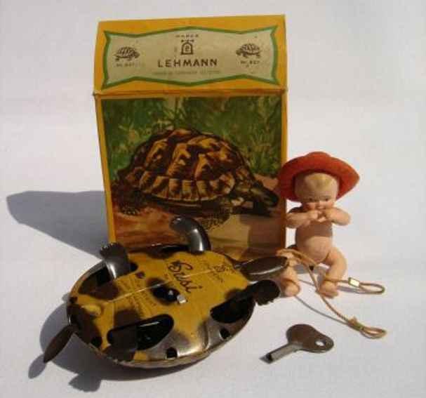 lehmann 827/Iw susi schildkroete mit weissem celluloid-baby