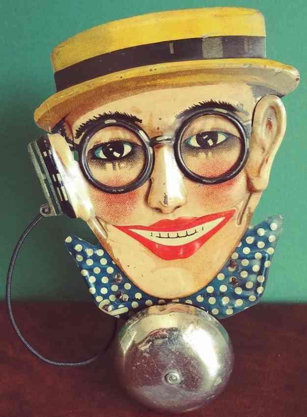 levy george gely blech harold lloyd radio glockenspielzeug