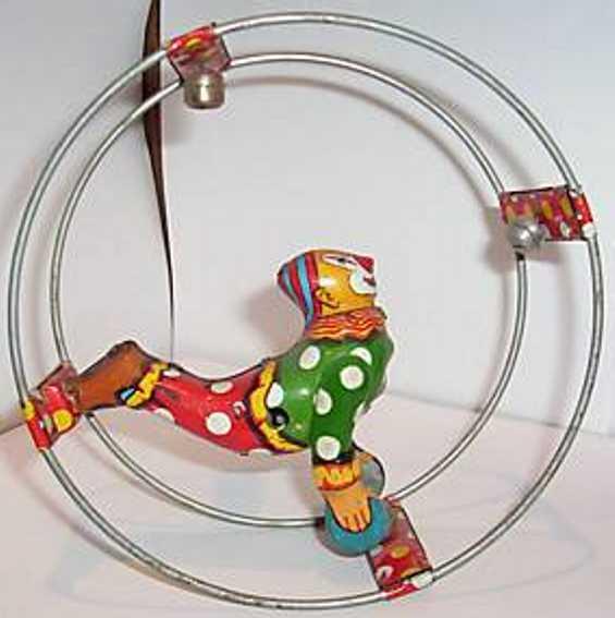 Linemar Clown im Kreisel