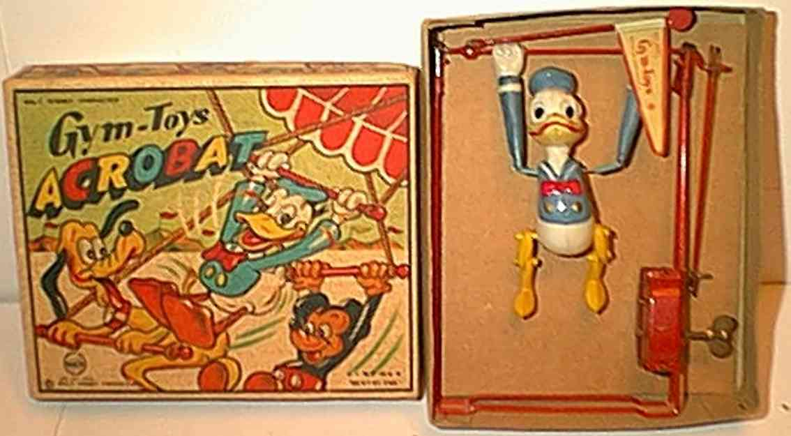 Linemar Donald Duck als Akrobat