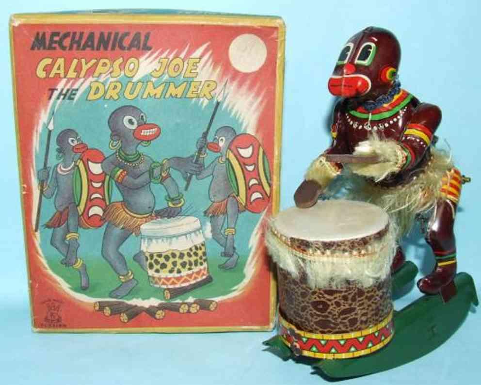 linemar calypso joe the african drummer