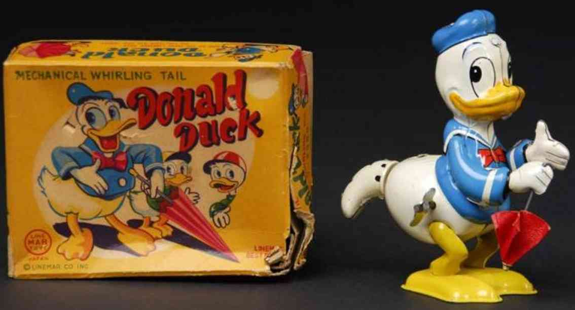 Linemar Donald Duck whirling tai